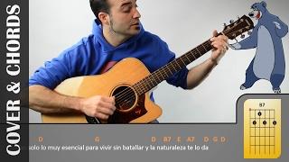 LO MÁS VITAL I El Libro De La Selva I COVER - CHORDS I Letra Y Acordes