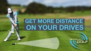SWING THE GOLF CLUB SLOWER FOR MORE DISTANCE?