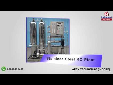 Filling Machine and RO Plant By Apex Technomac, Indore