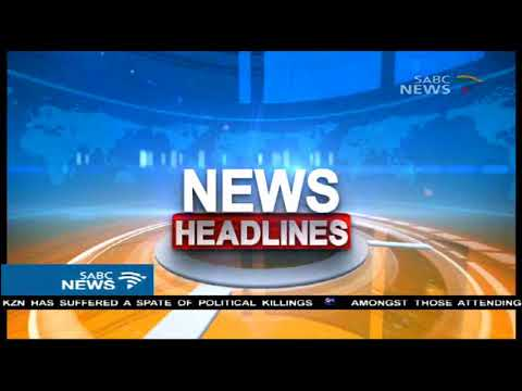SABCNews headlines @15h00 | 16 September 2017