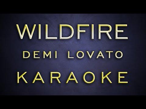 Demi Lovato - Wildfire [ Karaoke / Instrumental ]