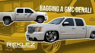 Bagging a Gmc Denali, 24x15s, Accuair E Level, US Mag Wheels,