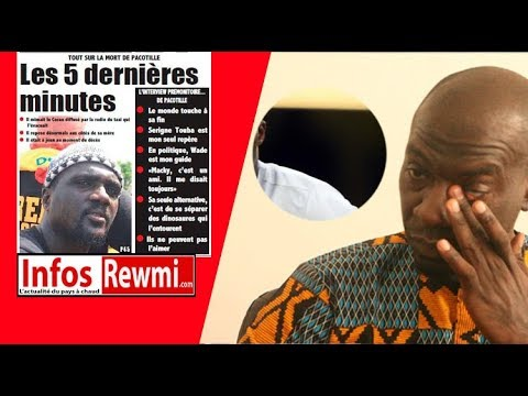 (Vidéo) Trois ans après, Tounkara regrette le décès de son ami Pacotille
