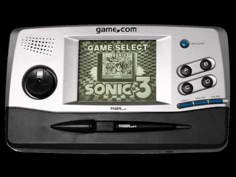 Sonic Jam on the Game.Com