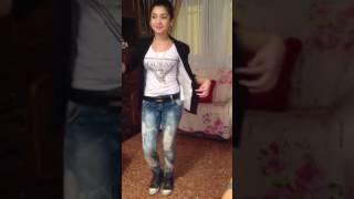 رقص زیبا دختر عرب