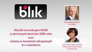 78 mln transakcji BLIKIEM w pierwszym kwartale 2020, trendy w ecommerce w czasie pandemii