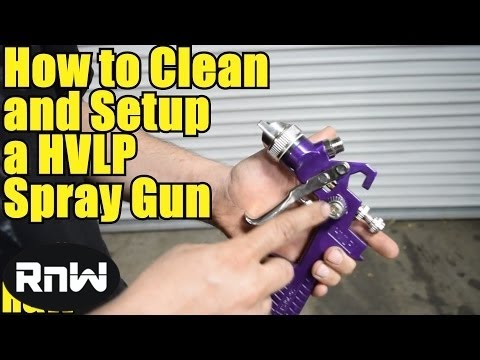 Harbor Freight HVLP Spray Gun Review – Also Cleaning and Setup Instructions