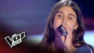 """Sara: """"Pero Me Acuerdo De Ti"""" – Audiciones a Ciegas  - La Voz Kids 2018"""