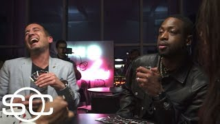 Dwyane Wade and Gabrielle Union talk Miami Heat trade while playing spades | SportsCenter | ESPN