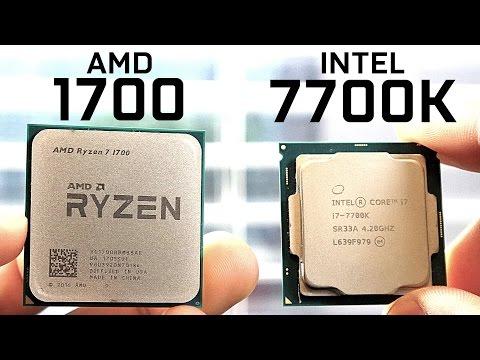 AMD 1700 vs Intel 7700K – CPU Comparison