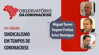 #AOVIVO | Sindicalismo em tempos de coronacrise | Observatório da Coronacrise