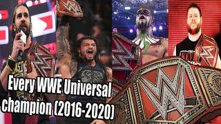 Every WWE Universal champion (2016-2020)