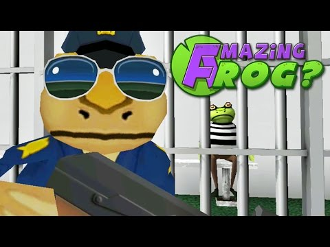 Amazing Frog - FROG POLICE - Part 35