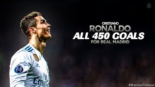 Cristiano Ronaldo All 450 Goals For Real Madrid