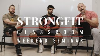 The StrongFit Seminar and System