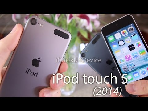 NEW iPod Touch 5 Review 16GB, 2014 5th Gen Model - iPod Touch Unboxing 5G, Comparison & Benchmarks