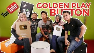 UNBOXING Golden Play Button Youtube Tribunnews.com