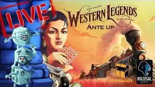 Live Dice Tower Play-through - Western Legends: Ante Up