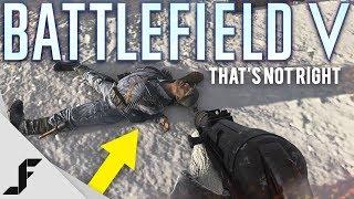 This doesn't make much sense Battlefield 5