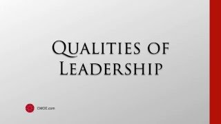 Great Leadership Quotes - Qualities of Leadership 2016