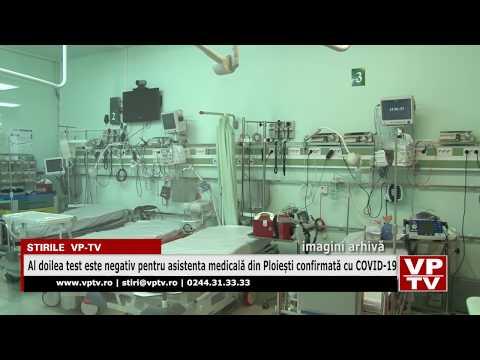 Al doilea test este negativ pentru asistenta medicală din Ploiești confirmată cu COVID-19