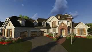 EUROPEAN HOUSE PLAN 1020-00083