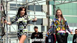 130421 Busan Adidas MIRUN 2NE1 - Go away.