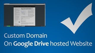 Custom Domain On Google Drive Hosted Website [HD 1080p]