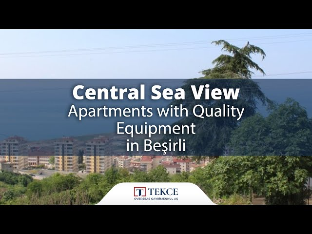 Investment Opportunity Flats with Sea Views in Trabzon