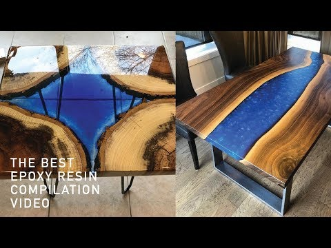 5 Amazing Epoxy Resin River Table Diy Woodworking Project