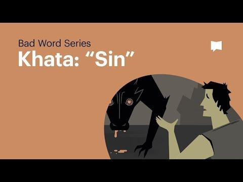 Word Study: Khata - Sin