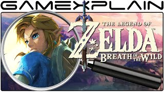 Zelda: Breath of the Wild Analysis - EVERYTHING (Secrets & Hidden Details)