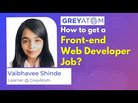 How to get a front end web developer job | front-end web ... - YouTube