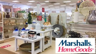 MARSHALLS HOMEGOODS DECORATIVE ACCESSORIES HOME DECOR SHOP WITH ME SHOPPING STORE WALK THROUGH