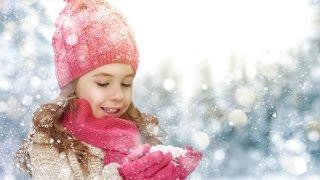 ❉ СЕРЕБРИСТЫЕ СНЕЖИНКИ ПЕСНЯ ❉❉ Новогодний снегопад   Веселые новогодние песни для детей