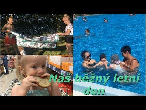 Náš běžný letní den | MamaVlog