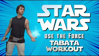 STAR WARS  'Use The Force' TABATA Kids Workout