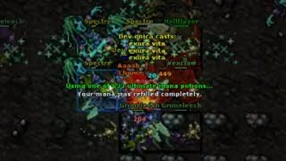 DEV ONICA DIES AT LEVEL 1019 - BEST OF TIBIA, PART 11 - TWITCH   TIBIA