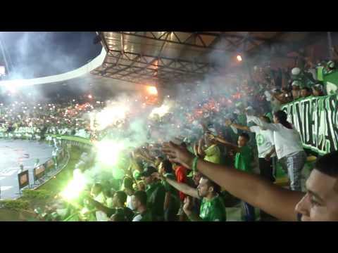 """Green Hell en Armenia | Frente Radical Verdiblanco | 22/11/2015"" Barra: Frente Radical Verdiblanco • Club: Deportivo Cali"