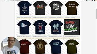 Amazon Merch Listing & Uploadprozess I Threadbasket Shirt Money Makers