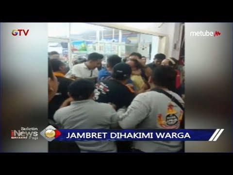 Pelaku Jambret di Bandar Lampung Nyaris Tewas Dihakimi Warga - BIP 23/06