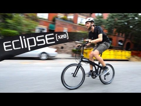 Tern Eclipse X20 Ninja – folding bike Review Video