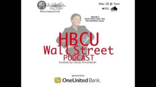 HBCU Wall Street Interview: Marye Dean, Esq. -TheWallStreetLawyer.Com