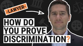 How to Prove Discrimination at Work