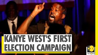 Rapper Kanye West launches first campaign for US Presidential elections 2020 - Download this Video in MP3, M4A, WEBM, MP4, 3GP