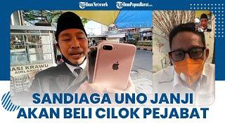 Menparekraf Sandiaga Uno Janji akan Beli Cilok Pejabat di Lombok bersama Gubernur NTB