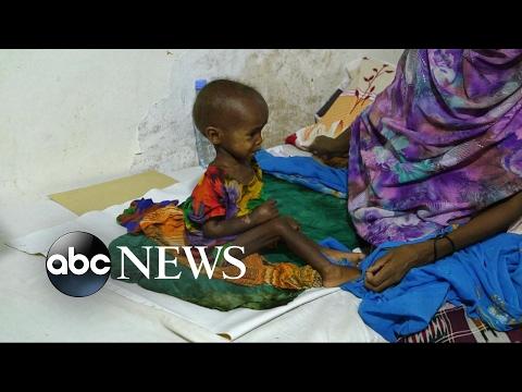 Vier landen op de rand van de hongersnood. (06.02)