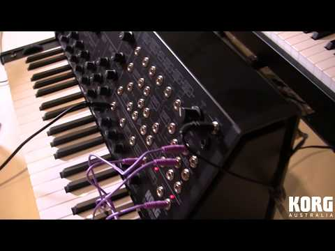 KORG MS-20 Mini: Monophonic Synthesiser & Monotron Delay ( KORGANTUAN )
