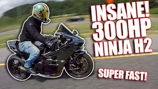 300HP NINJA H2! INSANE POWER!
