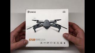 Eachine E58 Drohne Review Deutsch Erfahrungsbericht & Test (Dji Mavic Pro Clone) DroneX Visuo XS809S